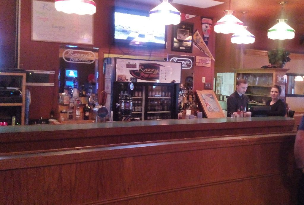 Bar at Razzys Road House